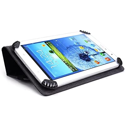 (KILLER PRICE) Tablet Case Cover and Stand fits LG G Pad 7.0 [Black] and Bonus Item from NextDia