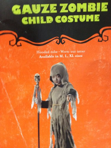 Gauze Zombie Child Costume 6-8