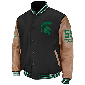 Michigan State Spartans NCAA Varsity 2013 Letterman Jacket by Colosseum