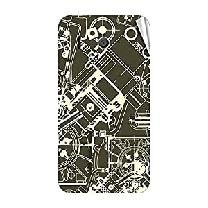 Garmor Designer Mobile Skin Sticker For Huawei Ascend D2 - Mobile Sticker