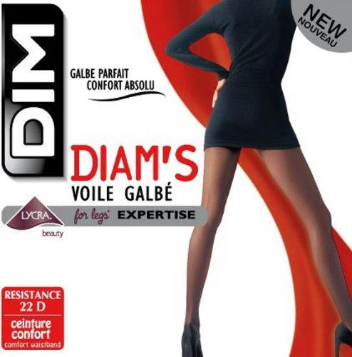 Dim - Diam s Voile Galbé - Collant - Femme - Noir - 1 251d7a2013d