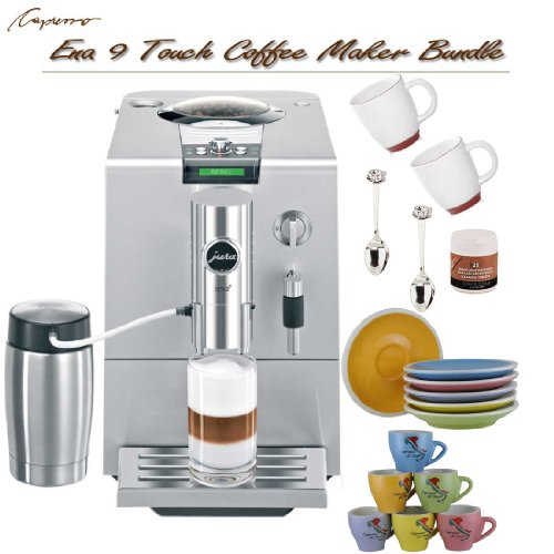Capresso Ena 9 37 Ounce One Touch Coffee Maker Bundle