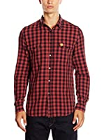 Love Moschino Camisa Hombre (Rojo / Negro)