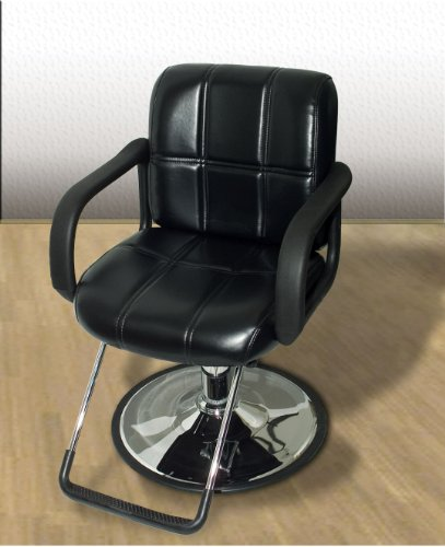 New leather barber beauty chair hydraulic styling hair for Hydraulic chairs beauty salon