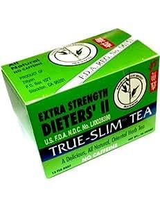 Bamboo Leaf Brand Extra Strength Dieters' II True Slim Tea 12 Bags