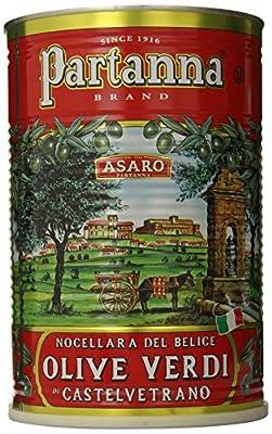 Partanna Premium Select Castelvetrano Whole Olives - 5.5 lbs from Partanna