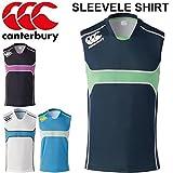 (カンタベリー) canterbury メンズシャツ タンクトップ プラシャツ プラクティスシャツ 袖なし ノースリーブ ラガーシャツ ラグビーウェア 紳士・男性用 RG36004