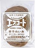 カナガワ 手縫い糸 エスコード No.30 細 ベージュ 8621-02