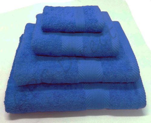Catherine Lansfield Cl Home Face Cloth, Cobalt Blue