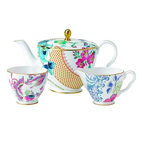 Wedgwood Butterfly Bloom 3-Piece Tea Story Set