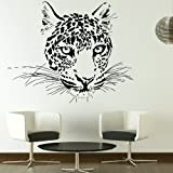 Cheetah Big Cat Transfer / Animal Art Wall Decor / Big Cat Wall Sticker CA6