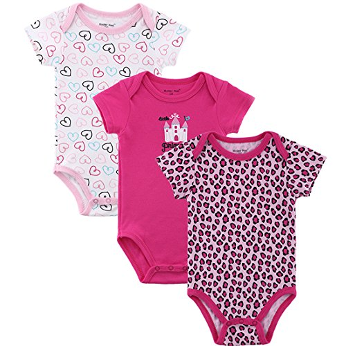 Solid Color Baby Onesies front-1036289