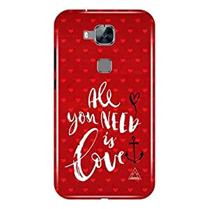 a AND b Designer Printed Mobile Back Case / Back Cover For Huawei G8 (HUW_G8_3D_3329)
