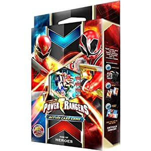 Power Rangers Megaforce Action Card Game Starter Deck Rise of Heroes