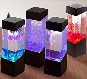 Jellyfish Water Ball Tropical Fish Aquarium Tank Mesmerising LED Lights Relaxing Mood Lamp Light (Jellyfish Light) from F-FOOK®
