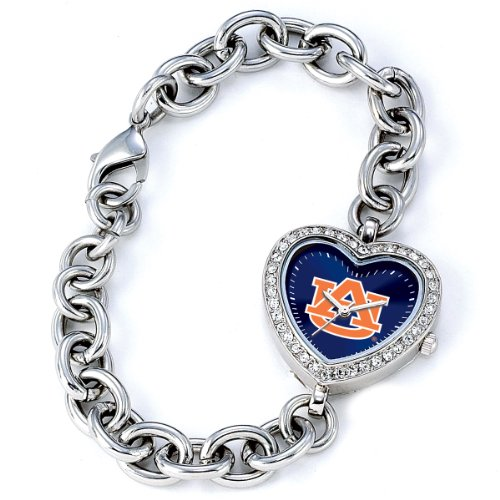 NCAA Women's CH-AUB Heart Series Auburn Tigers Watch at Amazon.com