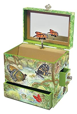Monarchs Music Box from Reeves (Breyer) Int'l