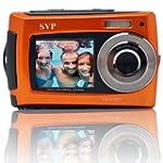 SVP 2.7 inch Dual Screen Orange Aqua5...