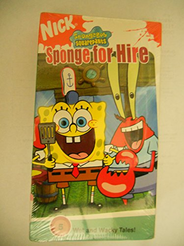 Spongebob Squarepants:Sponge for Hire [VHS]