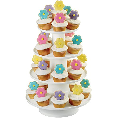 Wilton 4-Tier Stacked Cupcake Tower