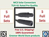 MC3 Solar Connector in 5 pack.