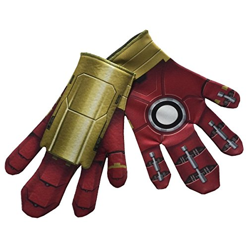 [GSG Adult Hulkbuster Gloves for Iron Man Costume Avengers Halloween Fancy Dress] (Hulkbuster Costume For Kids)