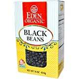 Eden Organic Black Beans Boxes - 16 oz