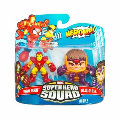 Buy Low Price Hasbro Marvel Superhero Squad Series 16 Mini 3 Inch Figure 2Pack Iron Man & Modok (B002ZEFJ9G)