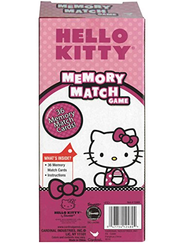 1 X Hello Kitty Memory Match Game