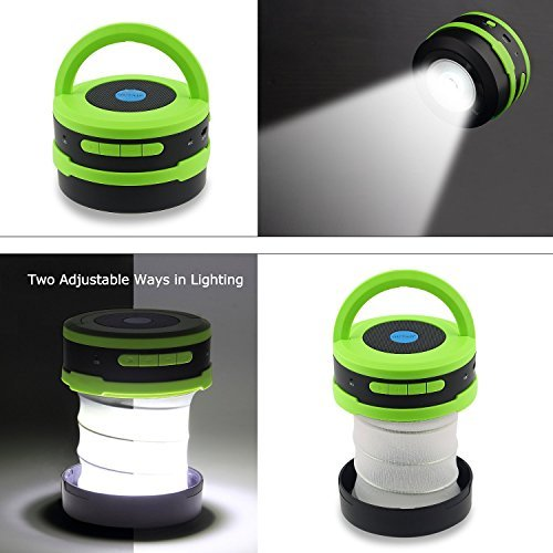 outad 2 in 1 outdoor wireless bluetooth lautsprecher led lampe mit eingebautem mikrofon. Black Bedroom Furniture Sets. Home Design Ideas