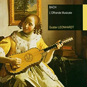 Leonhardt Edit.:Musikal.Opfer