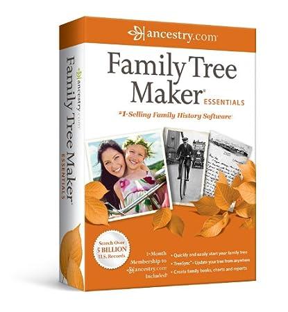 Family Tree Maker Essentials 2012