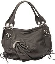 Dark Grey 'Dunsmouth' Large Hobo Purse
