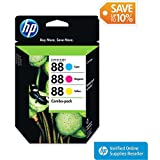 HP 88 Tri-color Combo Inkjet Cartridge (CC606FN)