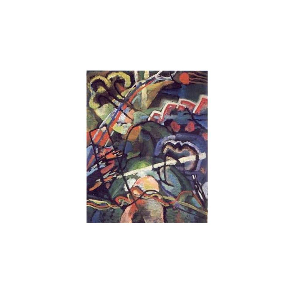 Wassily Kandinsky   Compostion Storm