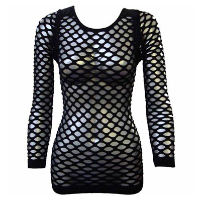 Net top black - One size - Poizen Industries