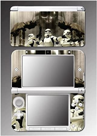 Star Wars Empire Stormtrooper AT ST Jedi Video Game Vinyl Decal Cover Skin Protector 6 for Nintendo 3DS XL