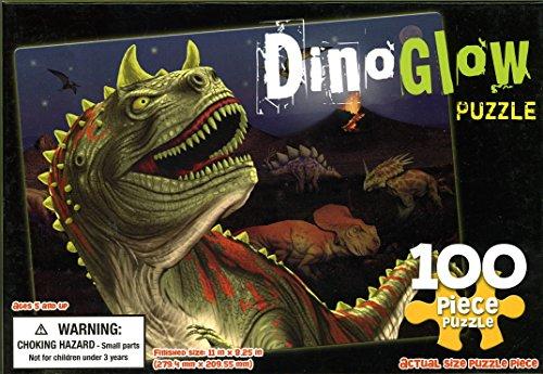Dino Glow Puzzle - 100 Pc - 1