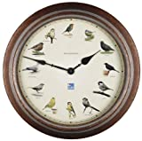 Smart Effects 13301MQZ RSPB British Garden Birds Clock