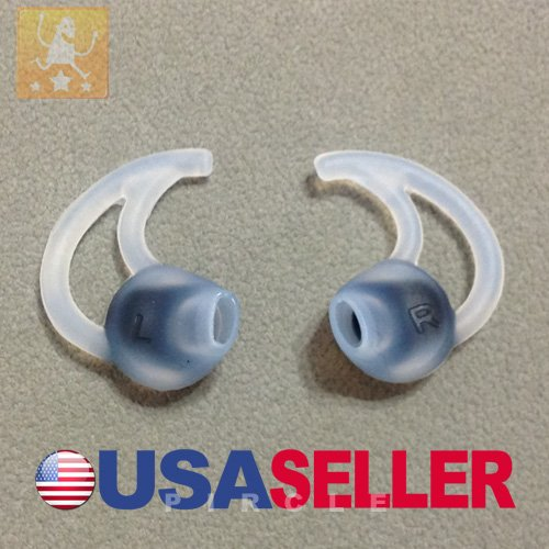 3 Pairs Large Earbuds For Bose Ie2 Stayhear Headphone (Large Eargels Eartips)