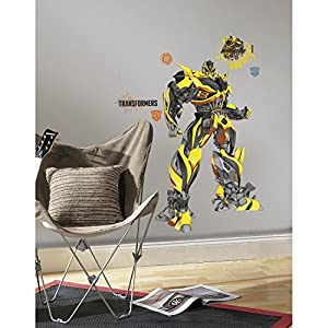 RoomMates Transformers: Age of Extinction Bumblebee Peel and Stick Giant Wall Decals by RoomMates
