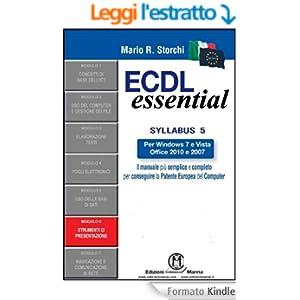 ECDL Essential - Modulo 6 - Strumenti di presentazione