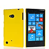 Compare cubix Ultra Thin Rubberized Matte Hard Case Back Cover for Nokia Lumia 720 YELLOW at Compare Hatke