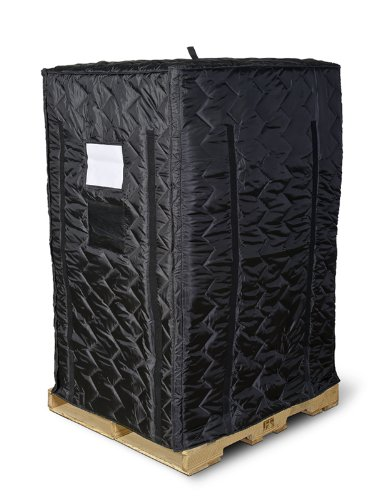 Insulated Pallet Cover, Black, 72