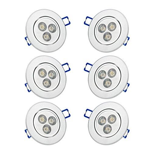 6x-auralumr-led-spot-encastrable-3w-plafond-plafonnier-en-blanc-chaud-270lm