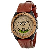 Pay Rs 1,999 for Timex Expedition Analog-Digital Beige Dial Unisex Watch - MF13