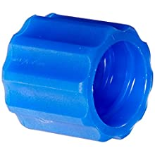 Value Plastic RMLLR-5 Rotating Male Luer Lock Ring (For use with BDMMTL), Blue Nylon (pack of  25)
