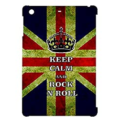Skin4gadgets Keep Calm and ROCK N ROLL - Colour - UK Flag Tablet Designer CASE for APPLE IPAD MINI1
