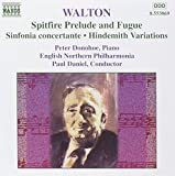 Walton : Spitfire Prelude et Fugue - Sinfonia concertante - Variations Hindemith
