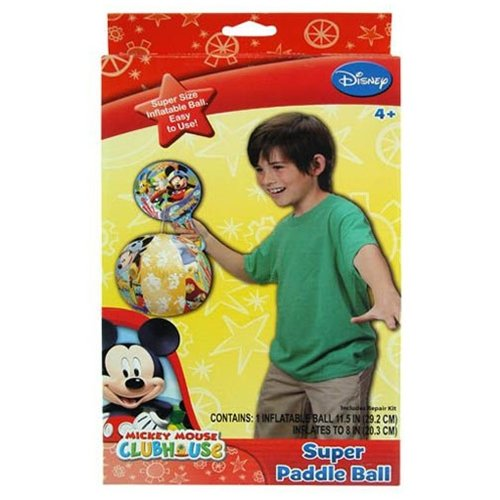 Mickey Deluxe Paddle with Inflatable Ball 28014MIC - 1